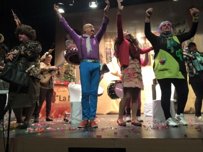 Carnaval murga Los Matacharis